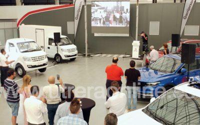 GARRIJERSON presenta en Sevilla a DFSK, 2º fabricante de vehículos en China y 8º del Mundo